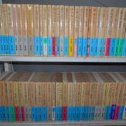 文庫本500冊お引き取りさせていただきました。