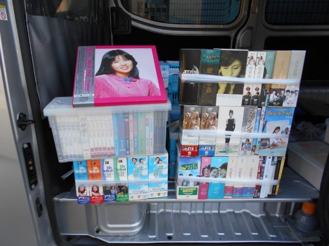 DVDコンテナ20個分お売りいただきました。