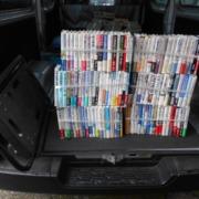 自動車関連本150冊お売りいただきました。