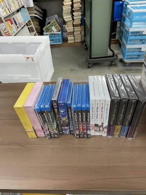 Blu-ray DVD 出張買取